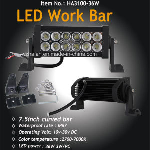 7.5inch off Road LED Bar Light in Flood and Spot Combo Beam pictures & photos