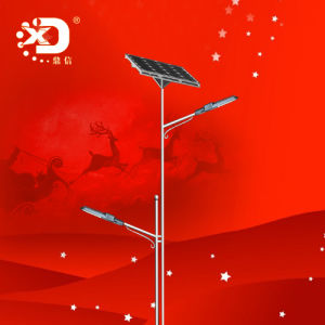 10m 100W LED Lamp Solar Street Lighting with Double Arms pictures & photos