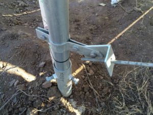 Solar Energy Bracket of Ground Mounting System pictures & photos