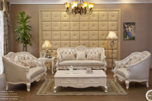 Excellent Classical Sofa Set Good Quality Sectional Sofa Set for Wooden Sofa (SQL-871)