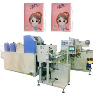 Napkin Tissue Packing Machine with Pocket Tissue Wrapping Baler pictures & photos