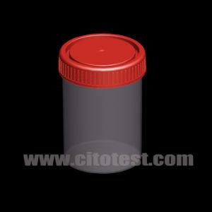 150ml Plastic Specimen Container with Graduation pictures & photos