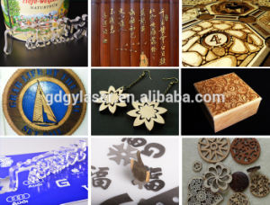 Acrylic Wooden Laser Cutting Machine Reci 80W pictures & photos