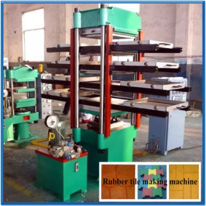 Rubber Tile Making Used Moulding Machine for Sale pictures & photos