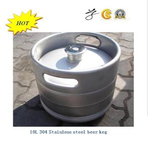 10L 304 Stainless Steel Beer Keg with Best Quality pictures & photos
