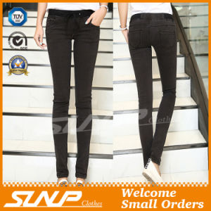 Ladies Sexy Low-Rise Fashion Stretch Skinny Jeans Clothing