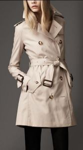 2013 Warm Water-Proof Cotton Women Winter Long Trench Coat (Hsc-157)