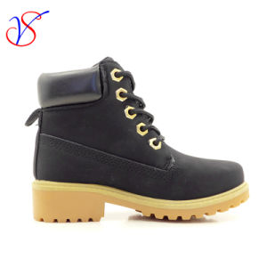 Family Fitted Kids Children Injection Safety Working Work Boots Shoes for Outdoor Job (SVWK-1609-050 BLACK) pictures & photos
