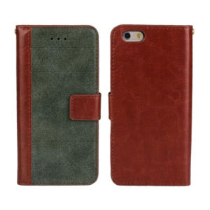 for Apple iPhone 6 Leather Case Cover