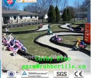 Eco-Friendly Rubber Borde/Playground Rubber Tile Garden Rubber Boarder pictures & photos