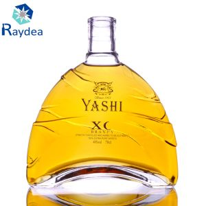700cc High-Graded Clear Brandy Glass Bottle pictures & photos