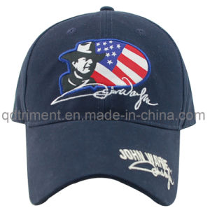 Embossed Plastic Snap Buckle Applique Embroidery Golf Baseball Cap (TMB9112) pictures & photos