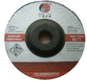 T42 Depressed Center Grinding Wheel for Steel (SD009)