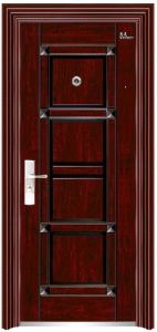 Steel Security Door (HMY-681.682.683) , Safety Door, Exterior Steel Door