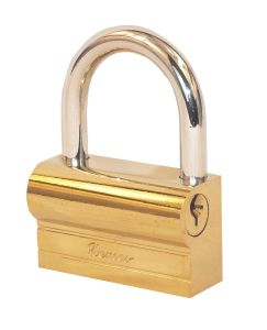 Brass Plated Iron Hammer Type Padlock pictures & photos