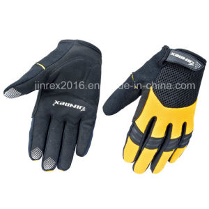Cycling Full Finger Bike Bicycle Sports Glove Gel Padding Glove pictures & photos