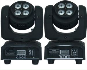 Double Faced 8PCS 8W RGBW 4in1 LED Mini Moving Head Wash Light for Stage Disco with Ce pictures & photos