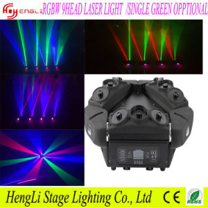 Laser Light with 9head RGB & Single Green Opptional
