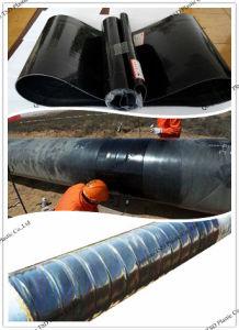 Pipeline Anticorrosion Heat Shrinkable Wraparound Sleeve pictures & photos