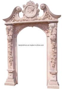 Stone Carving Doorway, Doorsurround, Door Frame (DF008) pictures & photos
