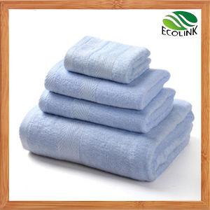 Cheap Luxury Bamboo Fiber Cotton Beach/Bath Towel pictures & photos