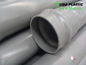 Bell End PVC Pipe pictures & photos