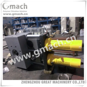 Plastic Extrusion Pelletizing Line Double Plate Type Screen Changer pictures & photos