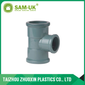 PVC Grey Tee PVC Fittings with NBR Standard pictures & photos