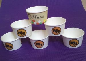 Ice Cream Cup /Cooler Mugs / Smack Cup / Paper Snack Mugs pictures & photos