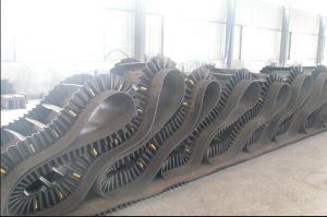 Chinese Made Corrugated Sidewall Conveyor Belt (Height of sidewall=160mm) pictures & photos