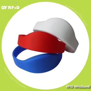 Wrs08 New Shape ISO14443A Nfc Silicon Wristbands (GYRFID) pictures & photos