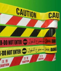 Hot Selling Cauton Warning Tape, Danger Remindering Tape pictures & photos