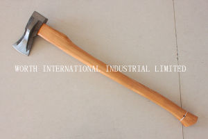 Splittng Axe with Wood Handle pictures & photos