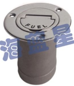 "Stainless Steel 316 2"" Fuel Key Deck Fill (DF-5)"