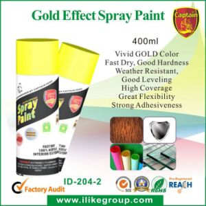 Gold Effect Spray Paint Hot Sale pictures & photos