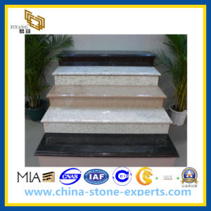 Black/White/Grey Granite Steps Stair for Interior and Exterior (YQG-GS1023) pictures & photos