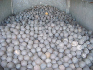 Grinding Steel Ball (60mn Material Dia35mm forged ball) pictures & photos