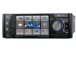 Single-Din 4′′ Car DVD Player with TFT-LCD Screen