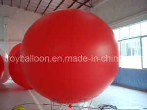 Plain Red Advertising Balloon