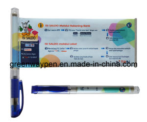 Promotional Banner Pen with Gel Ink (GW-809)