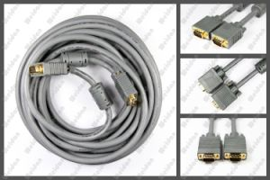 15meter Dark Grey Premium SVGA VGA Monitor Cable for Samsung LCD pictures & photos