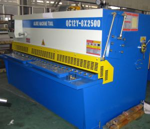 Hydraulic Shearing Machine (QC12Y 8X2500) pictures & photos