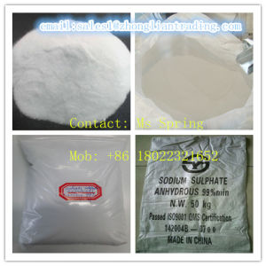 Sodium Sulphate Anhydrous Na2so4 99% pictures & photos
