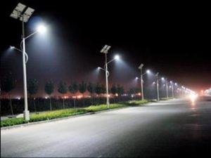 Double Arm Solar Street Light /Solar LED Street Light (SSLD70+SSLD20W) pictures & photos