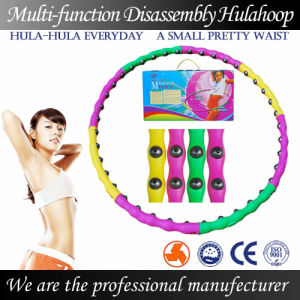 Magnetic Therapy Massage Hula Hoop-Disassembly and Weight Increease (BY-007)