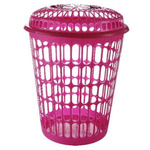 Plastic Laundry Basket, Measures 28 X 40 X 52cm pictures & photos
