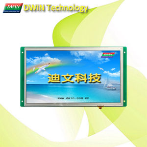High-Definition 10.2 Inch Uart TFT LCD Module/HMI, Touch Screen Optional, Dmt10600t102_01W