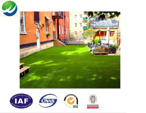 Anti-UV Landscape Decoration Synthetic Artificial Grass for Garden Wy-15 pictures & photos
