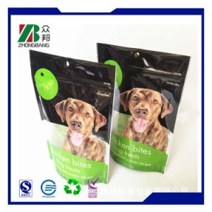 Plastic Pet Food Packaging Bag with Zipper pictures & photos