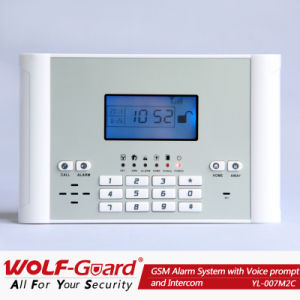 Built-in Lithium Battery GSM Alarm System with Voice and Intercom pictures & photos